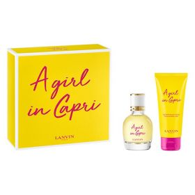 Lanvin A Girl In Capri Giftset EDT 50 ml + Bodylotion 100 ml