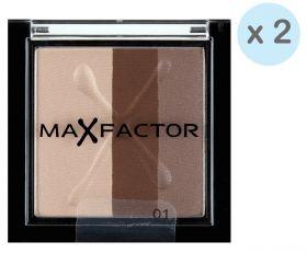 Max Factor Max Effects Trio Eyeshadow 01 Coco Crazy 3,5 g